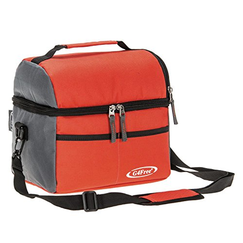 G4Free Isolé Sac À Lunch Cool Sac 10L Cooler...