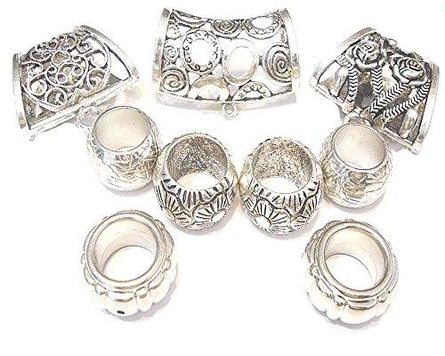 fashion-jewelry-schalschmuck-set-metall-vintage-stil-silberfarben-9-teilig
