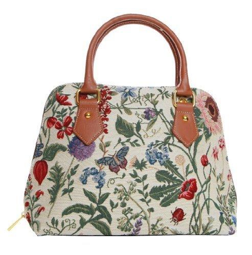Morning Garden Damen Handtasche, Schultertasche, aus der