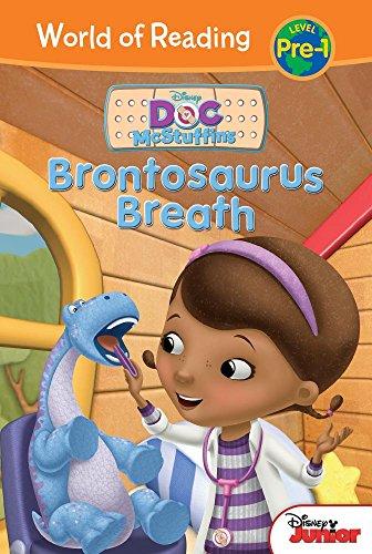 Brontosaurus Breath (Doc McStuffins: World of Reading, - Mcstuffins Doc Easy Reader