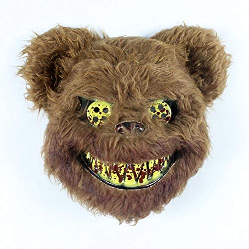 youjiu Dekoration .Hasenmaske Halloween Horror Hasenmann Maske @ Blood Waschbär (Waschbär Halloween Maske)