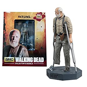 Figura de plomo y resina The Walking Dead Collector's Models Nº 15 Hershel 6