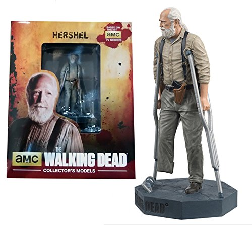 Figura de plomo y resina The Walking Dead Collector's Models Nº 15 Hershel 1