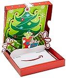 Amazon.de Geschenkkarte in Geschenkbox - 100 EUR (Geschenke mit Weihnachtsbaum)