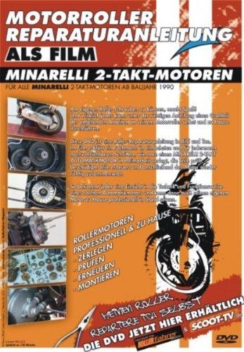 Motorroller Reparaturanleitung Minarelli 2 Takt Motoren -