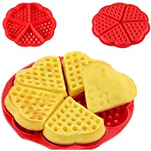 Top Quality 3D Silicone Cake Mold Waffle Muffin Cake Moulds DIY Baking Tools Love Heart SY