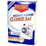 Dylon Teinture textile pour Machine à laver de nettoyage 3 en 1 Descales & rafraîchit, nettoie