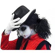 Dead Zombie de Michael Jackson Halloween Fancy Dress Set – Kids relajado Afro Peluca + Tribly
