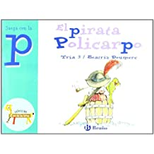 El pirata Policarpo: Juega con la p (Castellano - A Partir De 3 Años - Libros Didácticos - El Zoo De Las Letras)