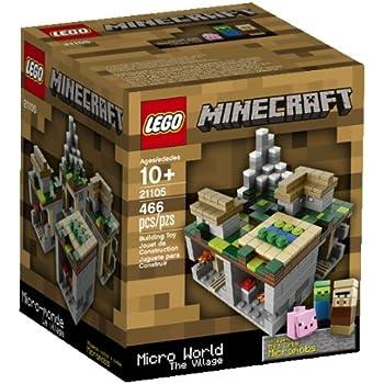 Lego – Minecraft – 21105 – Micro Monde – Le Village