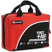 Preisvergleich für General Medi 160 Stück Premium First Aid Kit Tasche - Inklusive Kalt (EIS) Pack, Notfalldecke, Glühkerze, Kompass...