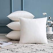 MIULEE 20 x 20 Pilliow Inserts,Set of 4 Premium Hypoallergenic Throw Pillows Inserts Decorative Sham Stuffer S