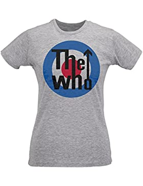 T-shirt Donna Slim The Who – M