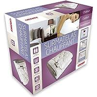 CHROMEX Surmatelas Chauffant 2 places - 1 télécommandes 31310