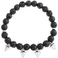 JOVIVI Schmuck,Lava-Armband Damen Reiki-Energietherapie Yoga-Armband Niete Buddha-Armband Elastische Armreif,Lava... preisvergleich bei billige-tabletten.eu