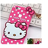 Qzey Nice Hello Kitty Case Cover For Vivo V7 Plus - Pink