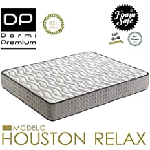 COLCHÓN VISCOELASTICO HOUSTON RELAX 90X180 Altura 28 cm, (3cm visco)