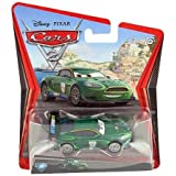 Disney Pixar Cars 2 - Coche miniatura de Nigel Gearsley (metal fundido, escala1:55)