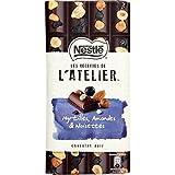 Nestlé les recettes de l'atelier myrtilles amandes noisettes noir 195g - ( Prix Unitaire ) - Envoi Rapide Et Soignée