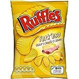 Ruffles Patatas Fritas con Sabor a Jamón y Queso - 170 gr