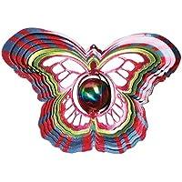 Hierro Detener Mirando Bola Mariposa Gira con el viento–D1515–10