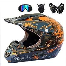 GWJ Doble Deporte Fuera De Carretera Moto Motocross Casco Dirt Bike ATV D. O. T Certificado De
