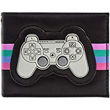 Cartera de Playstation One Controlador retro con Símbolos PS Negro