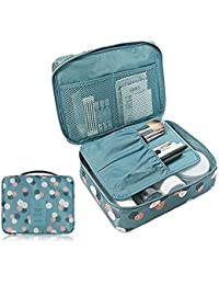 Siddhi Collection Portable Toiletry Bag Travel Organizer Cosmetic Bag For Women & Men For Vacation Travelling...
