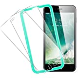 iPhone 6s Plus Screen Protector, ESR Screen Protector Tempered Glass Scratch Proof Easy to Install High Definition Ultra Clear Protector for 5.5 inches iPhone 6s Plus / 6 Plus- 2 Pack