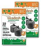 Swadesh Garbage Bags, Black Color, Mediu...