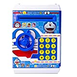 #9: Indian Kids Piggy Savings Bank with Electronic Lock with Music and Automatic Door Open, Battery Operated Hello Kitty, Blue Colour