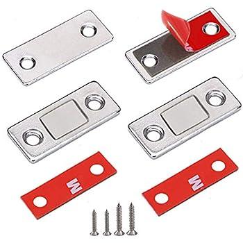 CABINET CATCH MAGNET catch porte d/'armoire magnétique CATCH Loquet Blanc Forte Grip