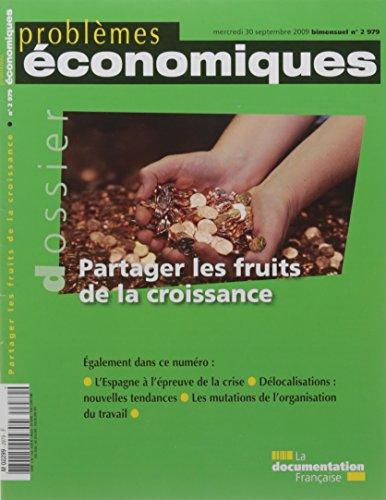 Partager les Fruits de la Croissance N 2979 par Collectif