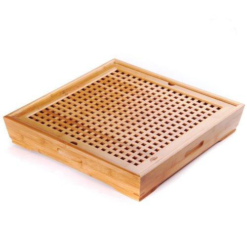 Teetablett Chapan – Teetisch aus Bambus für Chinesische Teezeremonie Gong Fu Cha