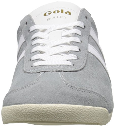 Gola Bullet Suede, Sneakers basses femme Gris - Grey (Grey/White)