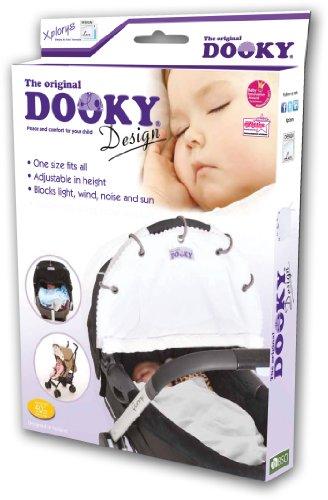 Original Dooky 126604 - Parasole per passeggino e seggiolino per auto, designer Lace
