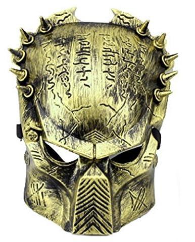 Mask Alien Vs Predator Farbe Bronze Mann