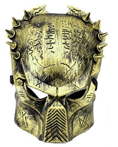 or Farbe Bronze Mann Und Frau - Hllw (Predator Halloween-maske)