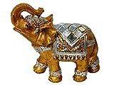 Elefant Gold MINI Elefant Deko Glücksbringer Dekoration Feng Shui