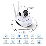 #6: Traders5253 Tr-Wireless HD IP Wifi CCTV Indoor Security Camera (White Color)