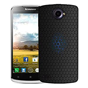 Snoogg Minimalistic Pattern Designer Protective Phone Back Case Cover For Lenovo S920