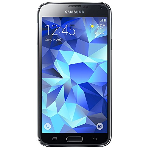 "Samsung Galaxy S5 Neo - Smartphone libre Android (pantalla 5.1"", cámara 16 Mp, 16 GB, Octa-Core 1.6 GHz, 2 GB RAM), color negro (importado)"