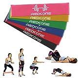 Ulogu Fitnessbänder Widerstandsbänder Set 6-stärken Trainingsbänder Stretch Rubber Bands Sport für Yoga Arm Beine