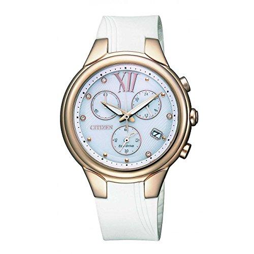Citizen l crono eco drive fb1313-03a - orologio da polso donna
