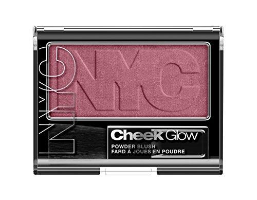 N.Y.C. New York Color Cheek Glow Blush, Plaza Plum, 0.28 Ounce by N.Y.C.