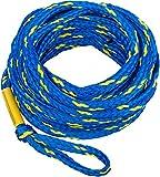 MESLE Schleppleine 3P 60', schwimmend, f. 3-Personen Towables, Blau-Gelb, 18,3 m