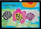 Kindliche Malerei (Wandkalender 2017 DIN A4 quer): Mit Leichtigkeit und Frohsinn ins neue Jahr... (Monatskalender, 14 Seiten ) (CALVENDO Spass)