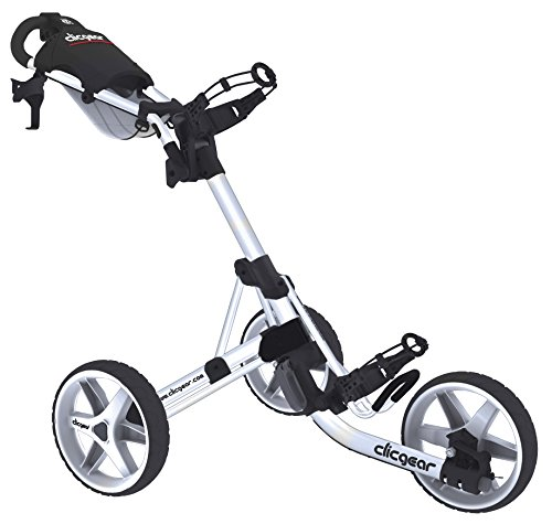 Clicgear Erwachsene 3.5 Golftrolley, Arctic/White, One Size