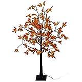 Beleuchteter Herbstbaum 96 LED warm-weiß, H150cm, Indoor Blütenbaum Lichterdeko Stimmungslicht Leuchtbaum Dekoration Stimmungsleuchte Lichterbaum