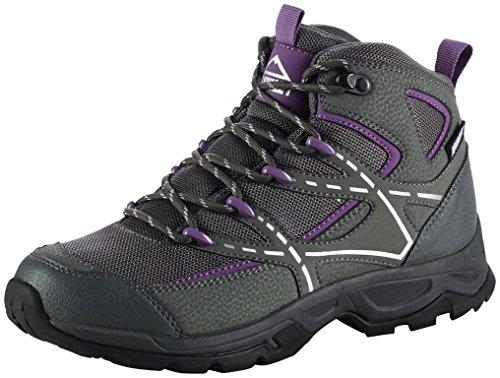 Mc KINLEY - Trek chaussures Nubash mi AQX W gris / noir / violette
